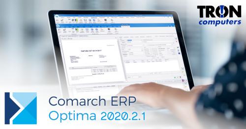 Comarch Optima 2020.2.1
