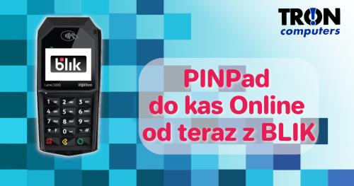 PINPad do kas online wraz z blikiem