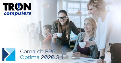 Comarch Optima 2020.3.1