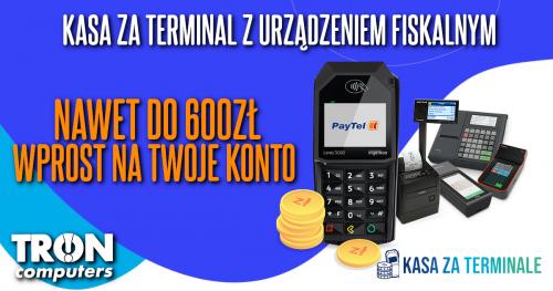 """""""KASA ZA TERMINALE"""" czyli NAWET DO 600ZŁ NA KONTO!"""