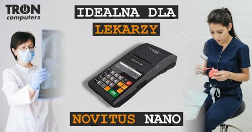 NOVITUS Nano Online – kasa idealna dla lekarzy!