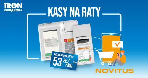 Kasy Na Raty od Novitusa!